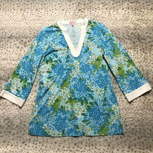 Lilly Pulitzer Joy Knit Tunic Darling Daisy Med